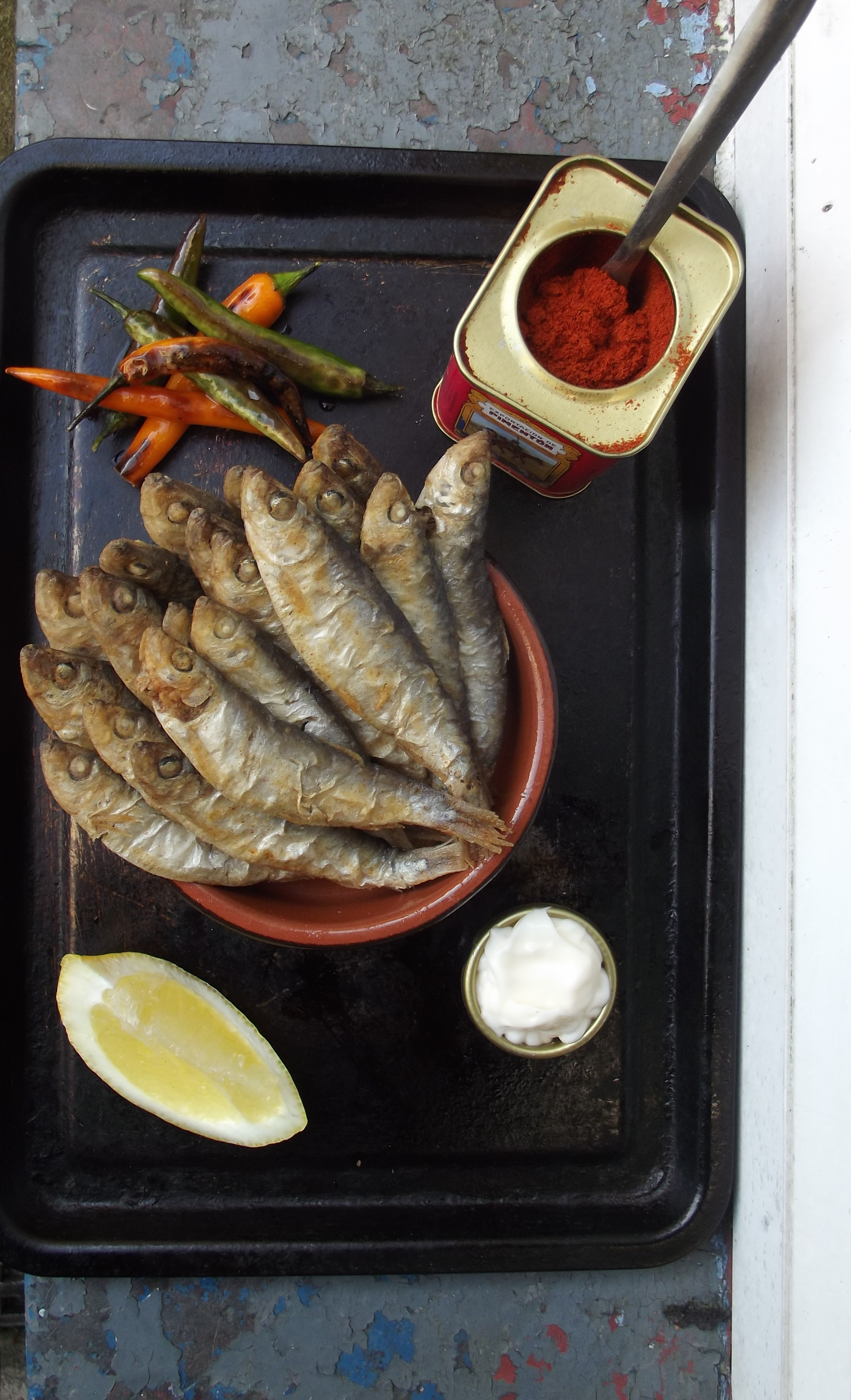 How can you make sprats at home from capelin 68
